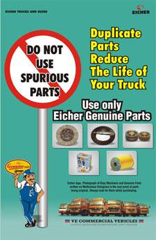 eicher genuine parts